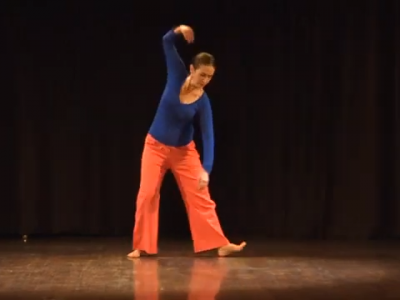 Contemporary Dance by Brigitte Chataignier at Manasa-Art Without Frontiers Looking Back Festival