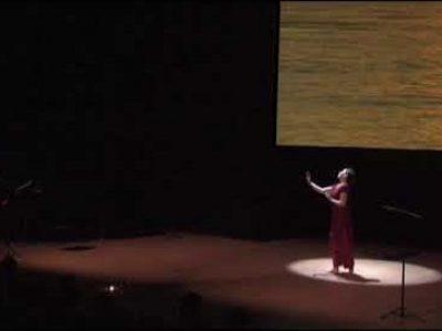 Gangâ (teaser) - Brigitte Chataignier, Zéno Bianu et Alain Kremski aux Champs Libres, Rennes. 2013