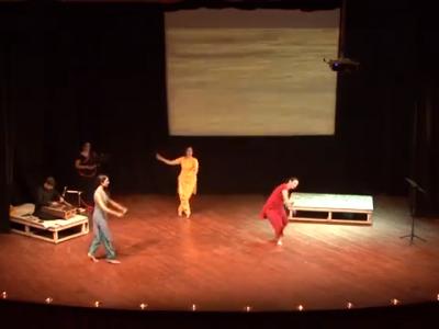 Gangâ - Brigitte Chataignier, On tour : Bonjour India Festival 2013, Kajuraho festival, Planet Nepal