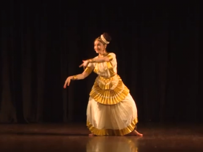 Mohiniattam by Brigitte Chataignier for Manasa-Art Without Frontiers Festival, IIC, New Delhi