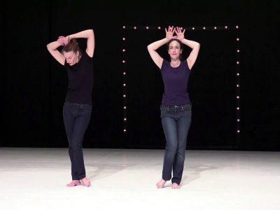 Un Tracé (teaser) création 2019 Brigitte Chataignier et Catherine Legrand