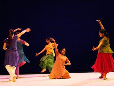Gopika, chorégraphie de Brigitte Chataignier, Vitré, décembre 07